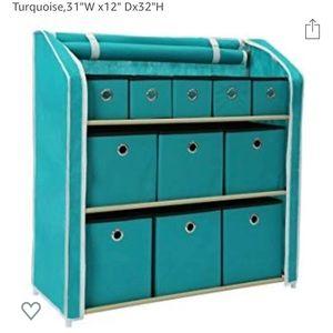 Multi-Bin Storage Shelf 11 Drawers Storage Chest